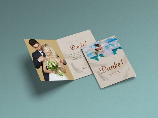 Dankeskarte Hochzeit Summer breeze